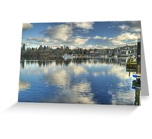 Windermere ,Views From The Glebe..Bowness Greeting Card