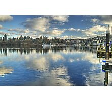 Windermere ,Views From The Glebe..Bowness Photographic Print