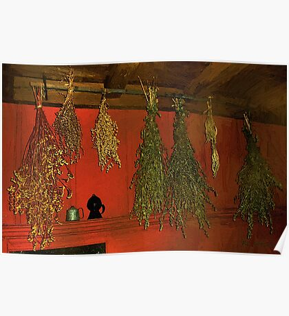 Harvest of Herbs Poster