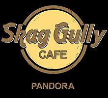Skag Gully Cafe (undistressed) by spazzynewton