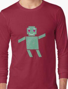 Robot in love Long Sleeve T-Shirt