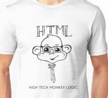 HTML High Tech Monkey Logic funny acronym Unisex T-Shirt