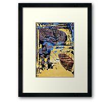 Castaway Framed Print