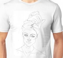 Portrait with Towel Unisex T-Shirt