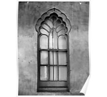 Pavillion Gate House Window Poster