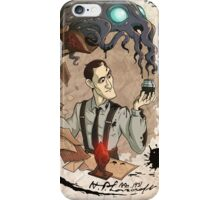 H.P Lovecraft 125th Anniversary  iPhone Case/Skin