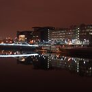 Lights along the River Clyde by Cliff Williams