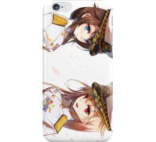 Yuudachi & Shigure as Captain iPhone Case/Skin