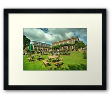 The Imperial Hotel  Framed Print