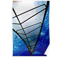 Under Azure Skies Poster