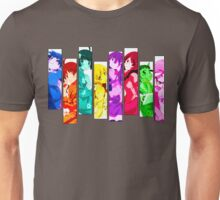 Female Chars from Monogatari Series Unisex T-Shirt
