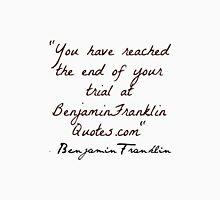 Benjamin Frankin Quotes Unisex T-Shirt