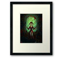 Mythos Cultist Girl Framed Print