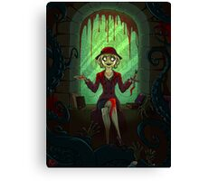 Mythos Cultist Girl Canvas Print