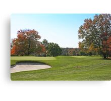 Golfing Weather At It's Best Canvas Print