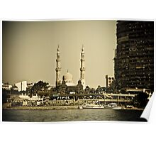 Cairo mosque Poster