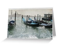 Venice Vintage Greeting Card