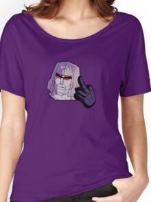 Mega-Flipped-Off Women's Relaxed Fit T-Shirt