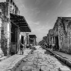 Pompeii B&amp;W!! by Colin Metcalf