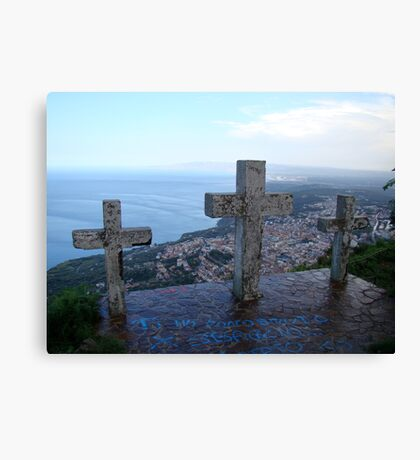 Watching Over Paradise Canvas Print