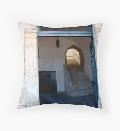 What's the Story Throw Pillow