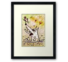 love from the first sight Framed Print