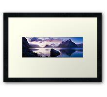 Reinefjorden, Lofoten Islands, Norway. Framed Print