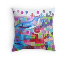 Shipshape and Bristol Fashion Throw Pillow