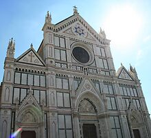 Church in Florence, Italy by AlyB9
