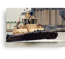 Tug Boat Of Newcastle Canvas Print