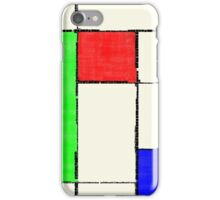 Mondrian 2000 iPhone Case/Skin