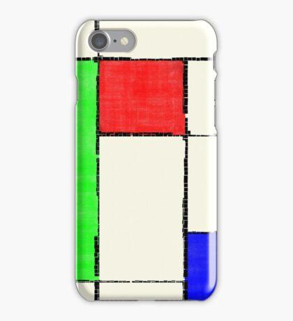 Mondrian 2000 iPhone Case/Skin
