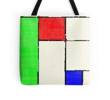 Mondrian 2000 Tote Bag