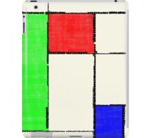 Mondrian 2000 iPad Case/Skin