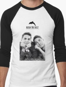 Rush Tri Delt Men's Baseball ¾ T-Shirt