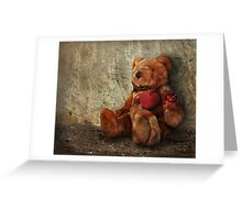 LOVE Makes ALL Things Bearable ! Greeting Card