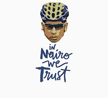 In Nairo We Trust : Illustration on Movistar Green T-Shirt