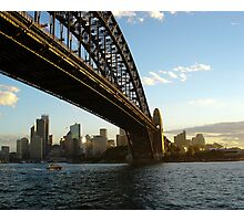 Sydney Harbour Bridge In The Afternoon Photographic Print