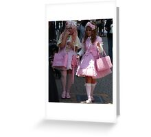 Barbie Dolls, for adults only! Greeting Card