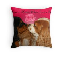 Age Doesn't Matter When Love's In The Air Throw Pillow