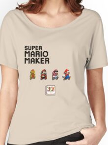 Mario Generations - Super Mario Maker Women's Relaxed Fit T-Shirt