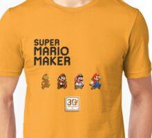 Mario Generations - Super Mario Maker Unisex T-Shirt