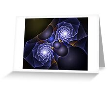 Purple Voile Greeting Card
