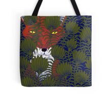 Invisible Fox Tote Bag
