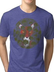 Invisible Fox Tri-blend T-Shirt