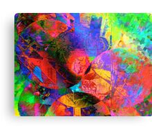 Psychedelic Balloons Metal Print