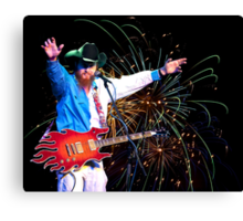 8 Ball Aitken Exploding on Stage Near You Canvas Print
