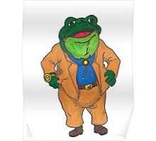 Frog Lawyer Poster