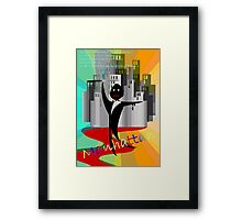 Manhattan Original Recipe Framed Print