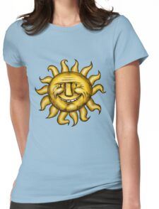 I love the sun Womens Fitted T-Shirt